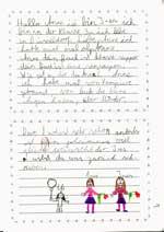 Kinder Schreiben Briefe Daniel Stern